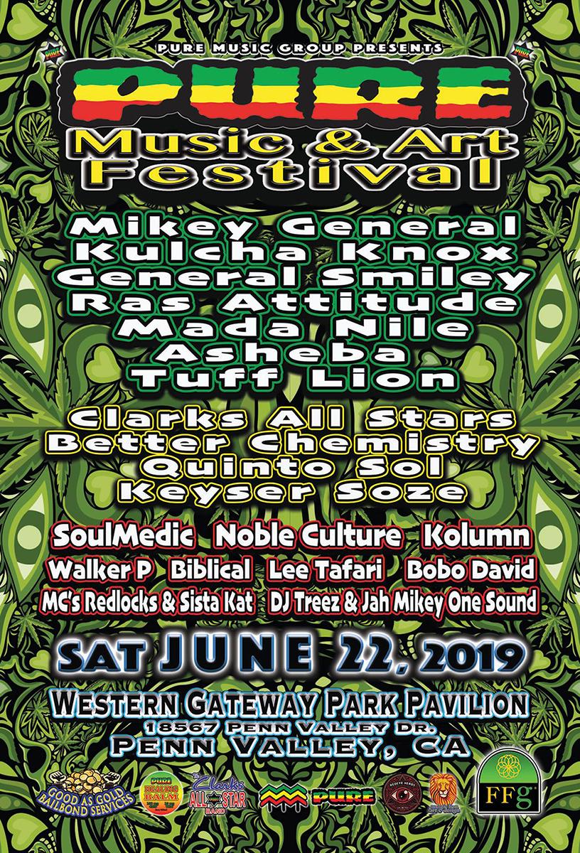 Pure Music & Arts Festival - June 22, 2019